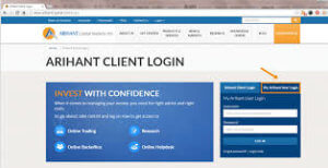 Arihant Capital client login