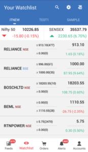 Stock Note App
