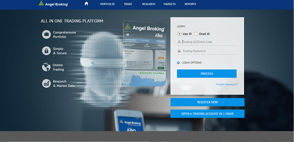 Angel Broking Mobile App 2020